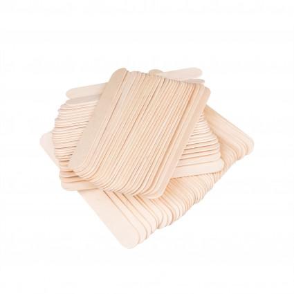 Drewniane szpatułki do wazeliny (10 sztuk)